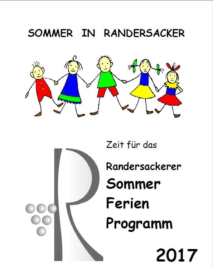 Das Sommer-Ferien-Programm 2017 - Titel