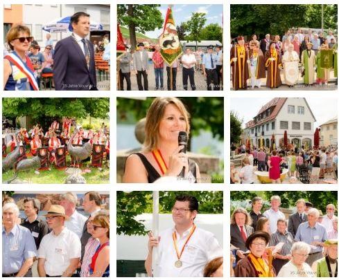 25 Jahre Partnerschaft mit Vouvray - Der Festakt am Samstag