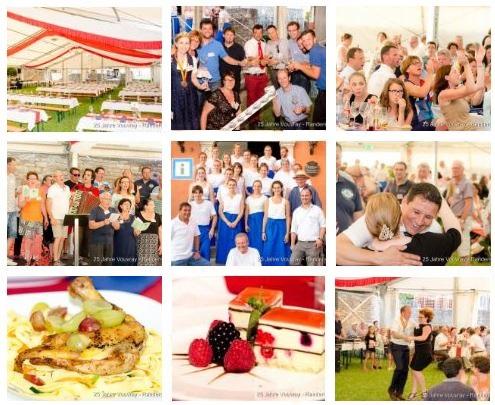 25 Jahre Partnerschaft mit Vouvray - Das Menu am Samstag
