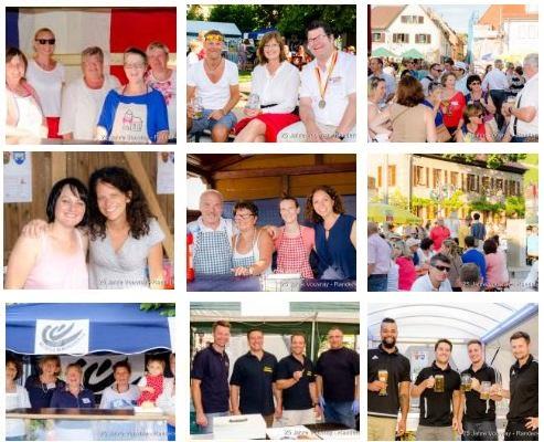 25 Jahre Partnerschaft mit Vouvray - Das Dorffest am ganzen Wochenende
