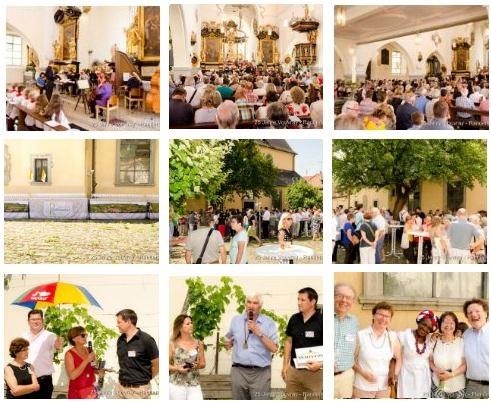 25 Jahre Partnerschaft mit Vouvray - Der Festgottesdienst mit Vin D'Amitié
