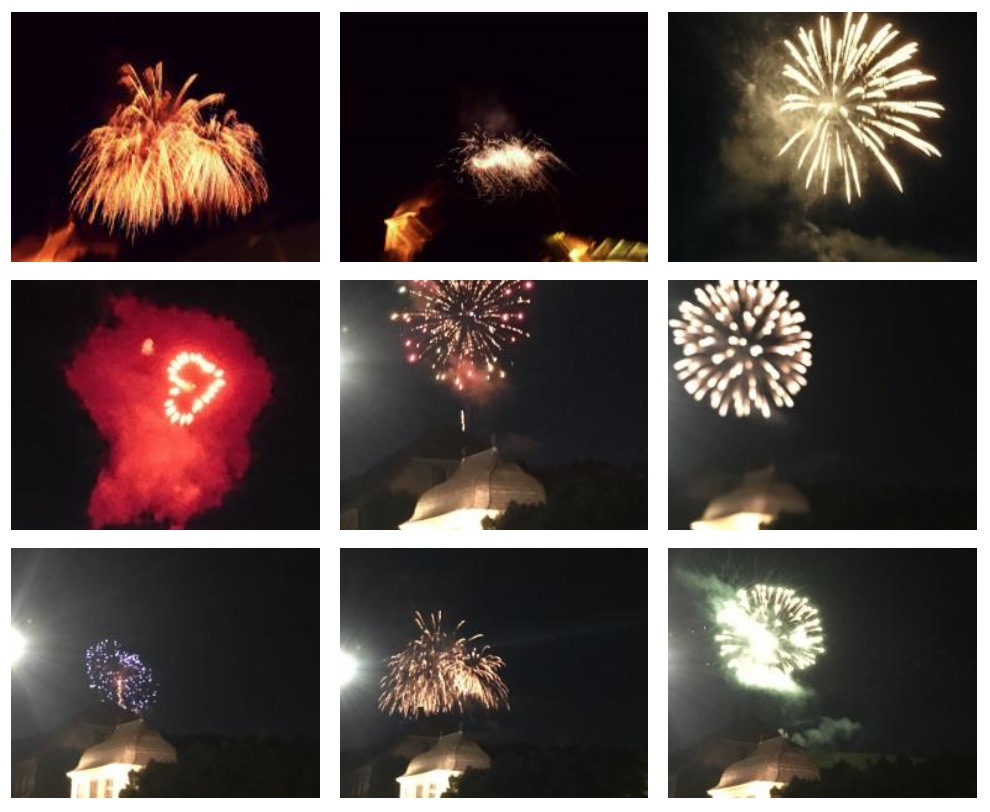 25 Jahre Partnerschaft mit Vouvray - Das Feuerwerk
